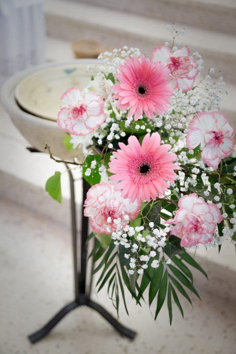 bephil photographie reportage baptême fleurs