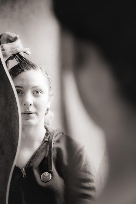 bephil photographie mariage préparatifs mariée coiffure